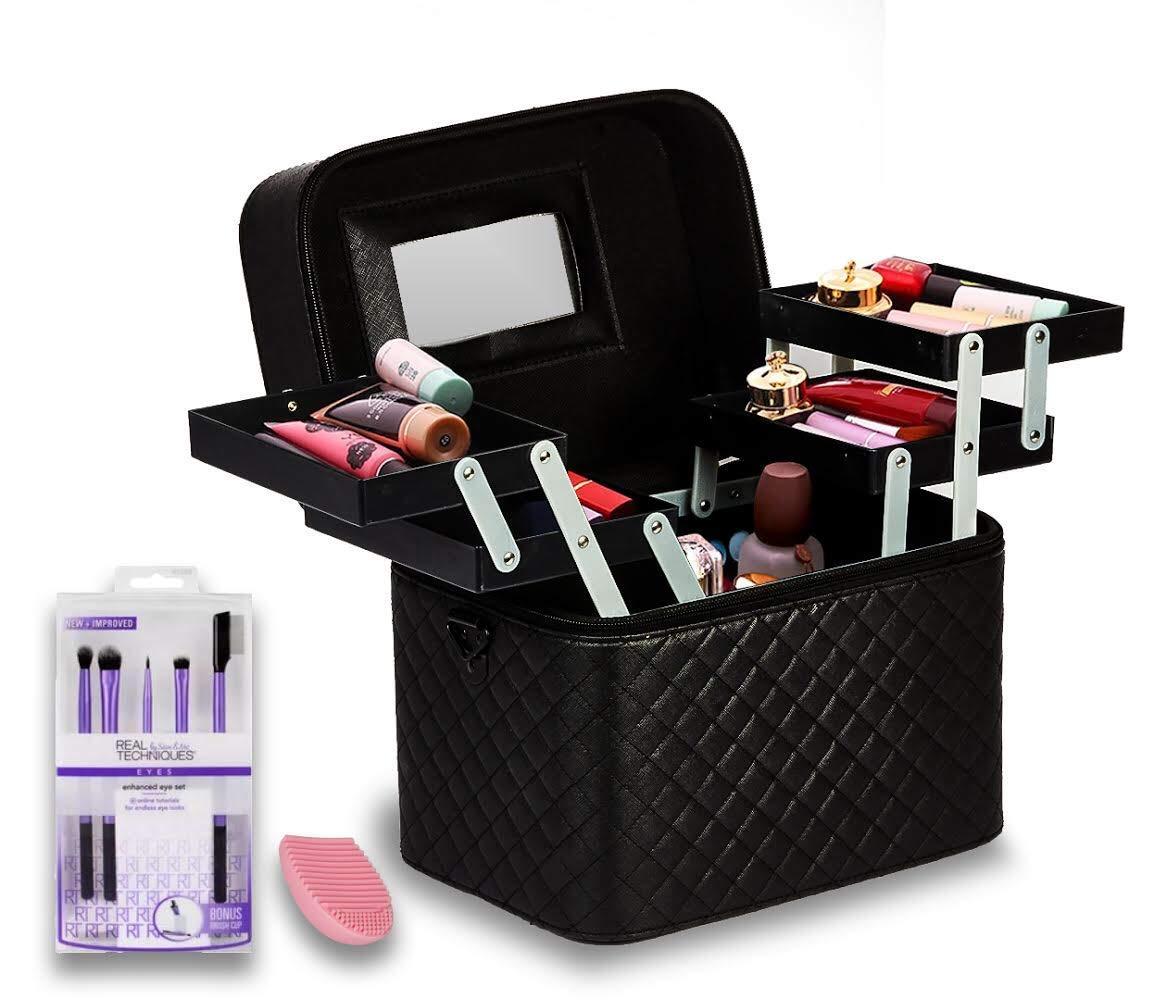 Cosmetics Nail Beauty Makeup Kit Storage Organizer Box