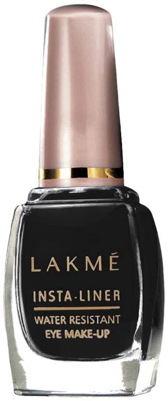 Lakmé Insta Eye Liner, Black, Water Resistant, Long-Lasting